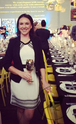 Amelia Johnson at an event organized by Bespoke Social